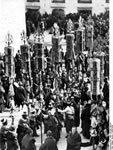Bundesarchiv Bild 135-BB-146-04, Tibetexpedition, Neujahrsfest Lhasa