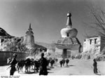 Bundesarchiv Bild 135-S-12-29-20, Tibetexpedition, Lhasa, Torchörten